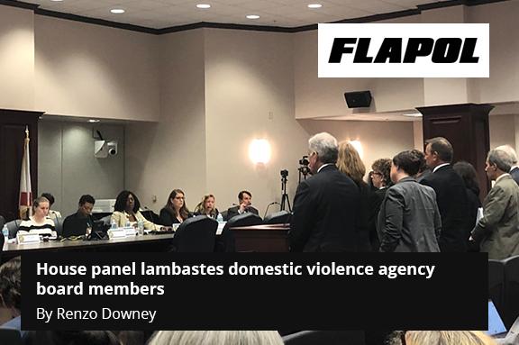 House panel lambastes domestic violence agency board members