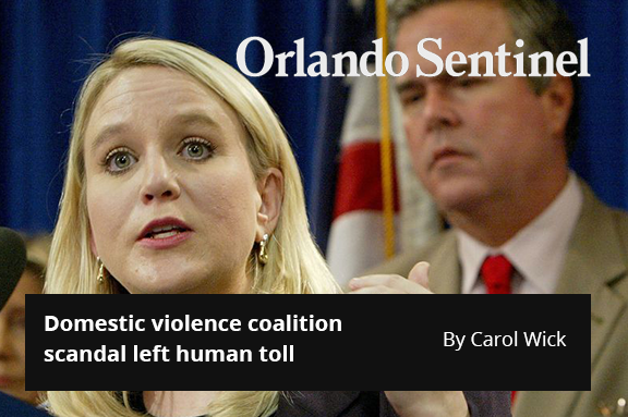 Domestic-violence group scandal left human toll