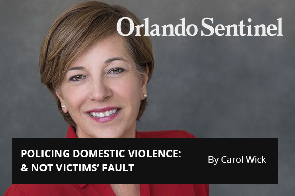 Central Florida 100: POLICING DOMESTIC VIOLENCE:  & NOT VICTIMS' FAULT